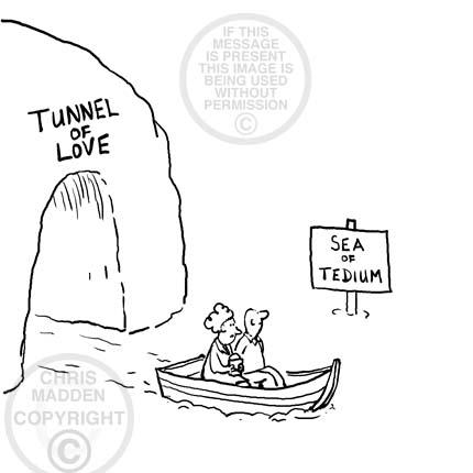 Tunnel of love cartoon