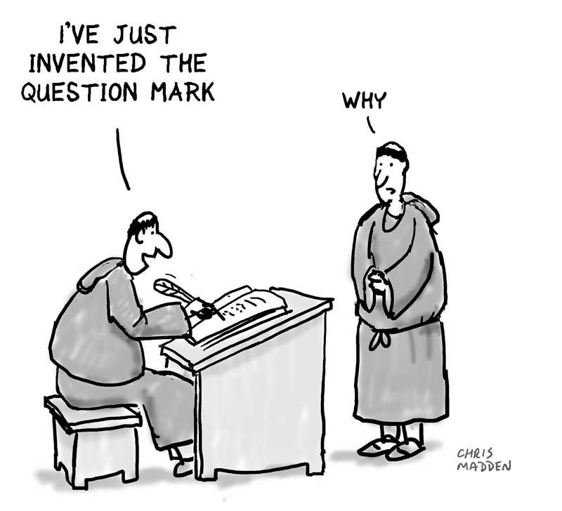 Punctuation cartoon