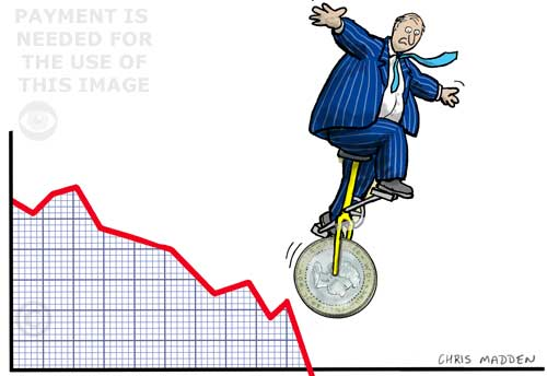 finance or economy cartoon