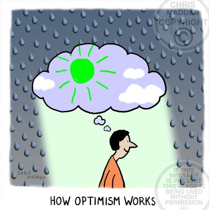 Illustration. How optimism works