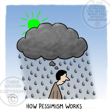Illustration. How pessimism works
