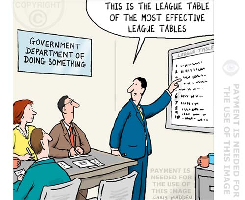 league table cartoon