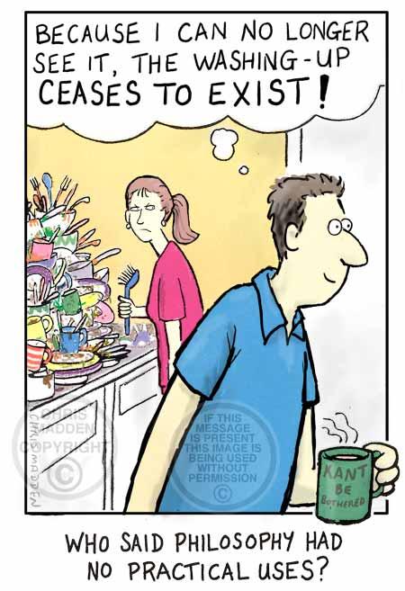 Practical uses of philosophy cartoon